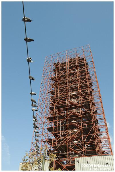 The Camberlitas, under restoration