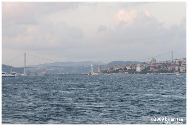 Bosphorus Bridge in the distance
