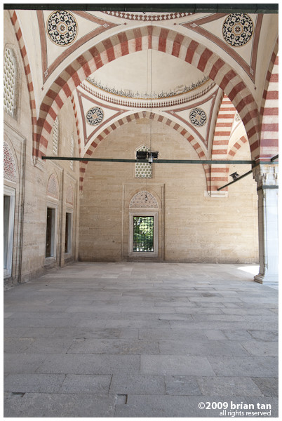 Selimiye Mosque: Outer terrace