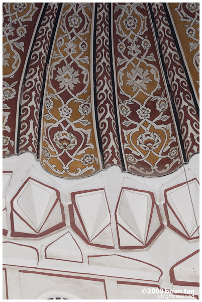 Selimiye Mosque: More ceiling details