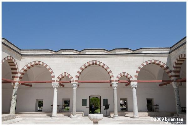 Sultan Beyazid II Complex: Interior courtyard