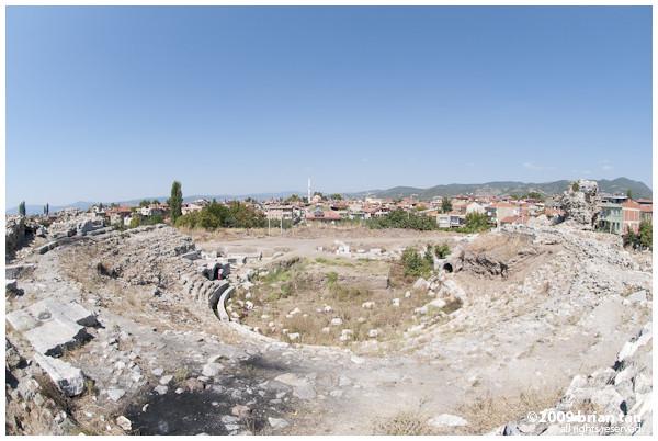 Iznik's roman amphitheatre