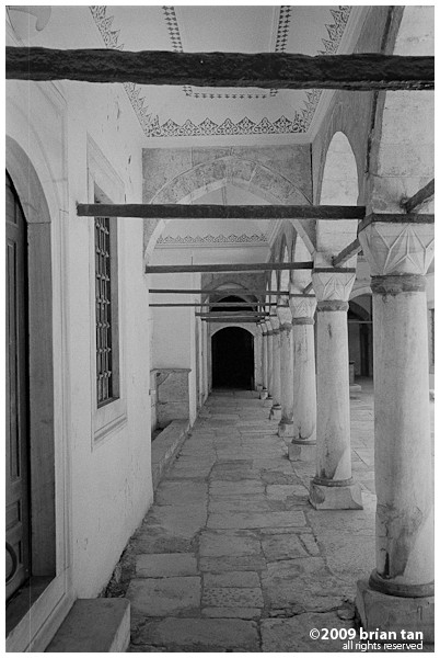 More interior of the Harem section of the palace