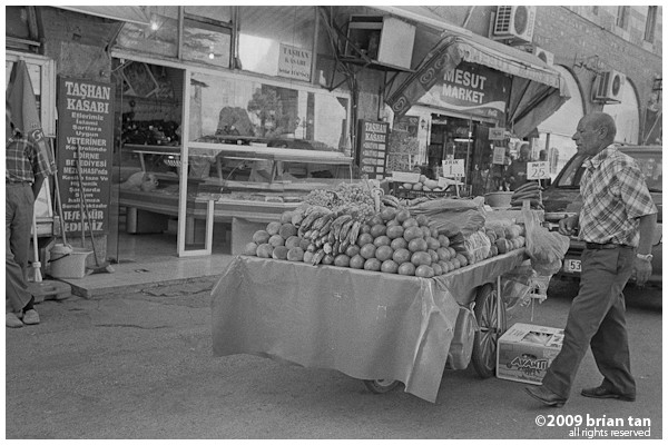 Edirne street seller