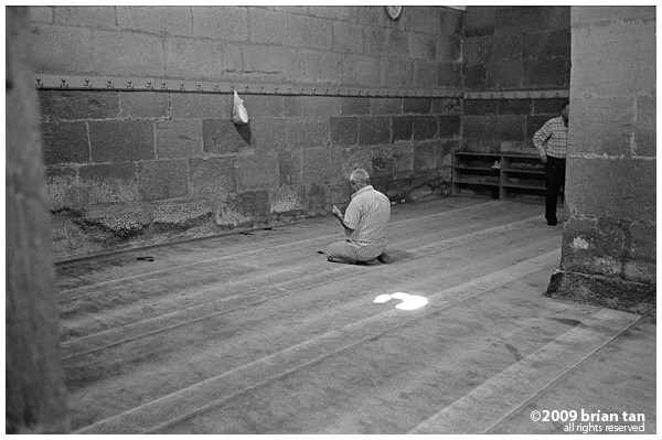 Hunat Hatun Mosque: Prayers