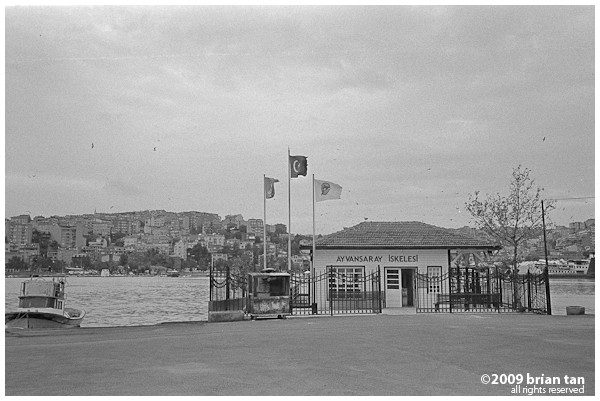 Ayvansaray Ferry Terminal in Balat