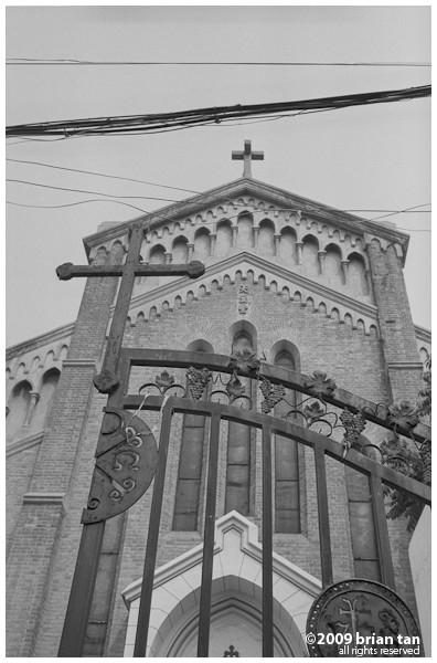 Kaifeng even has a church