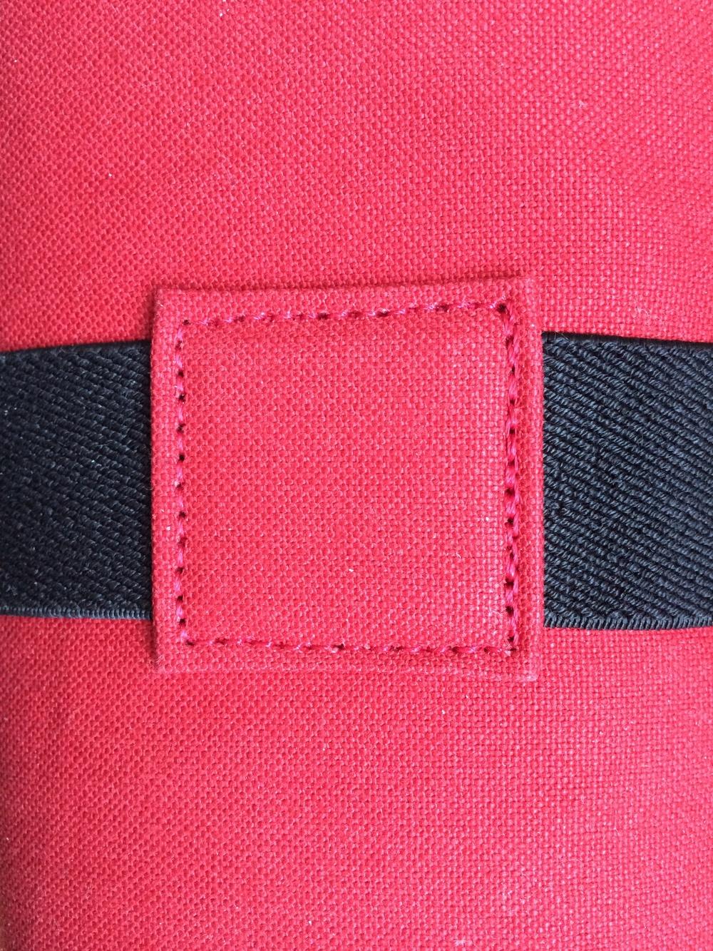 Stitching detail...