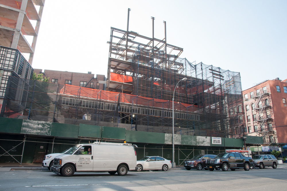 God's Love We Deliver expansion underway at 166 Avenue of the Americas by Gerner Kronick + Valcarcel.