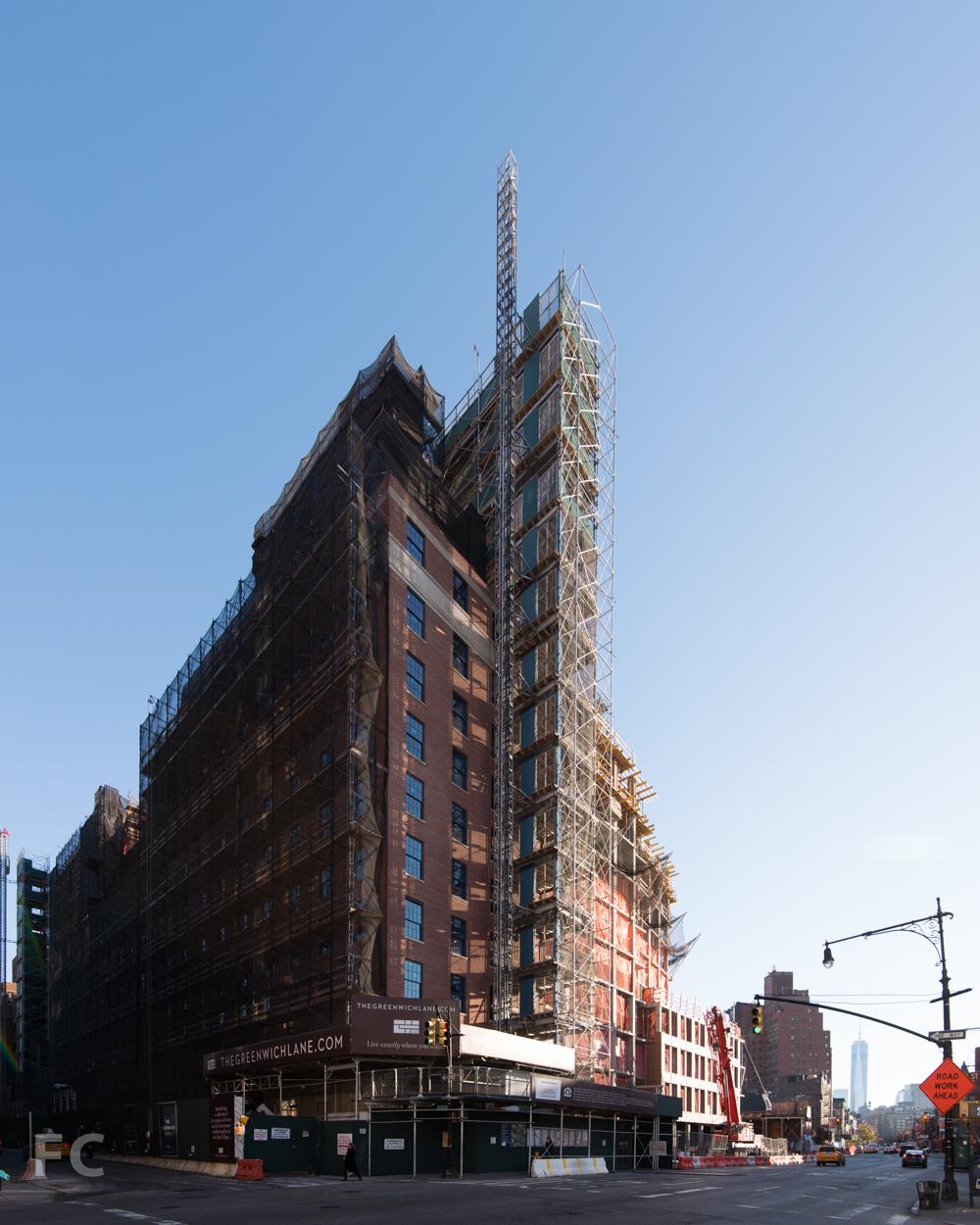 Northwest corner of 160 West 12th Street.
