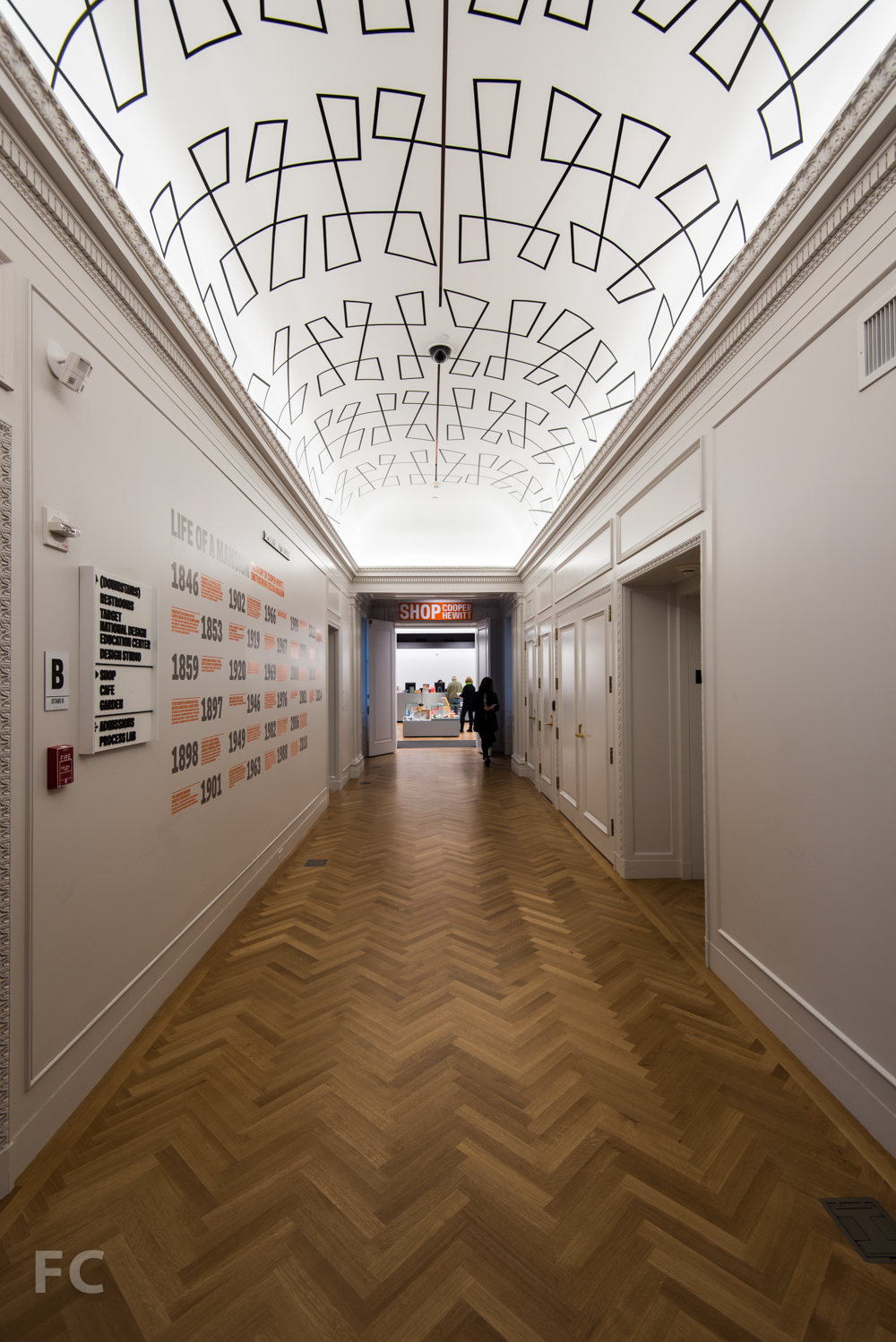 The Rear Hall leading to SHOP Cooper Hewitt.