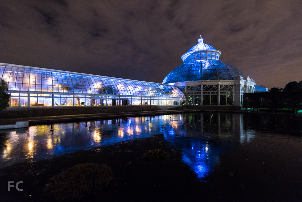 Haupt Conservatory at the New York Botanical Garden.