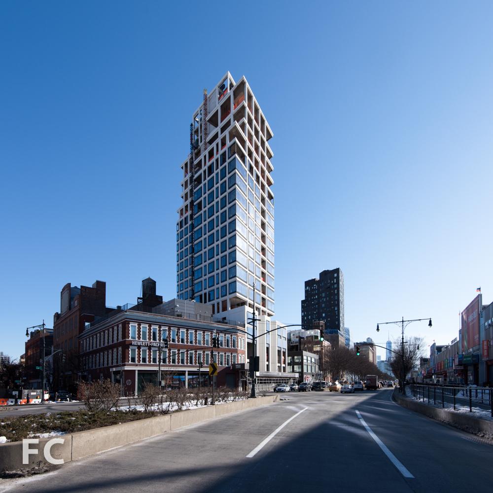Northwest corner from 12th Avenue.