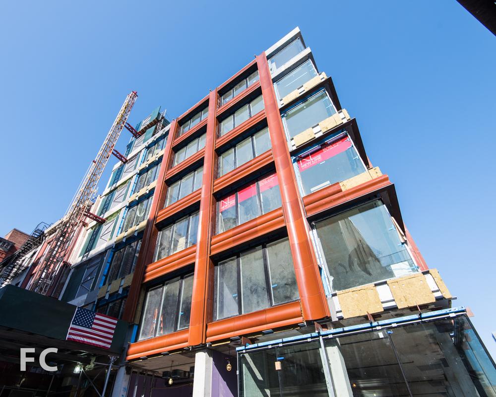 South facade from Bond Street.