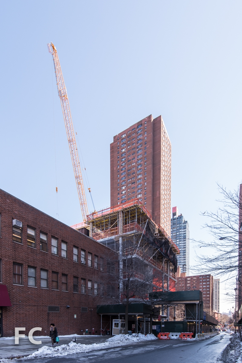 Southwest corner from East 92nd Street.