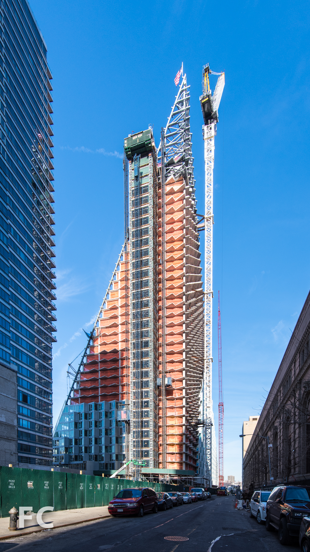 Northeast corner from West 58th Street..