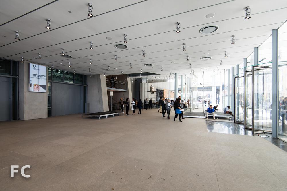 Museum lobby.