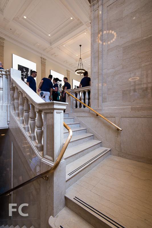 Grand stair.