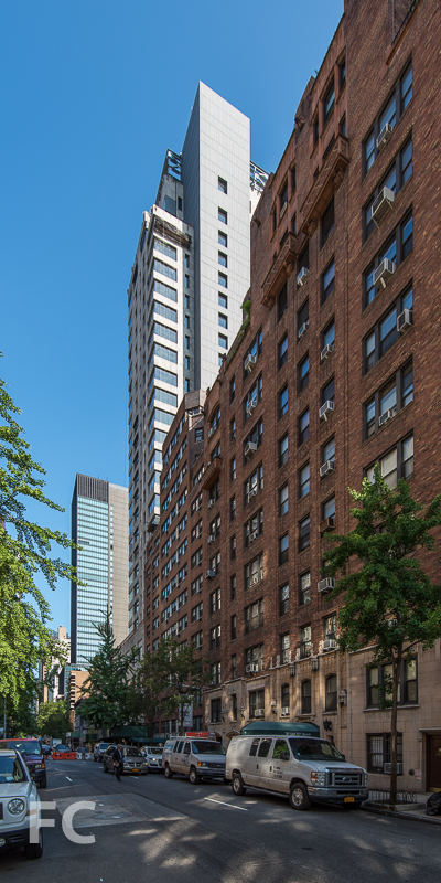 East facade from East 50th Street.