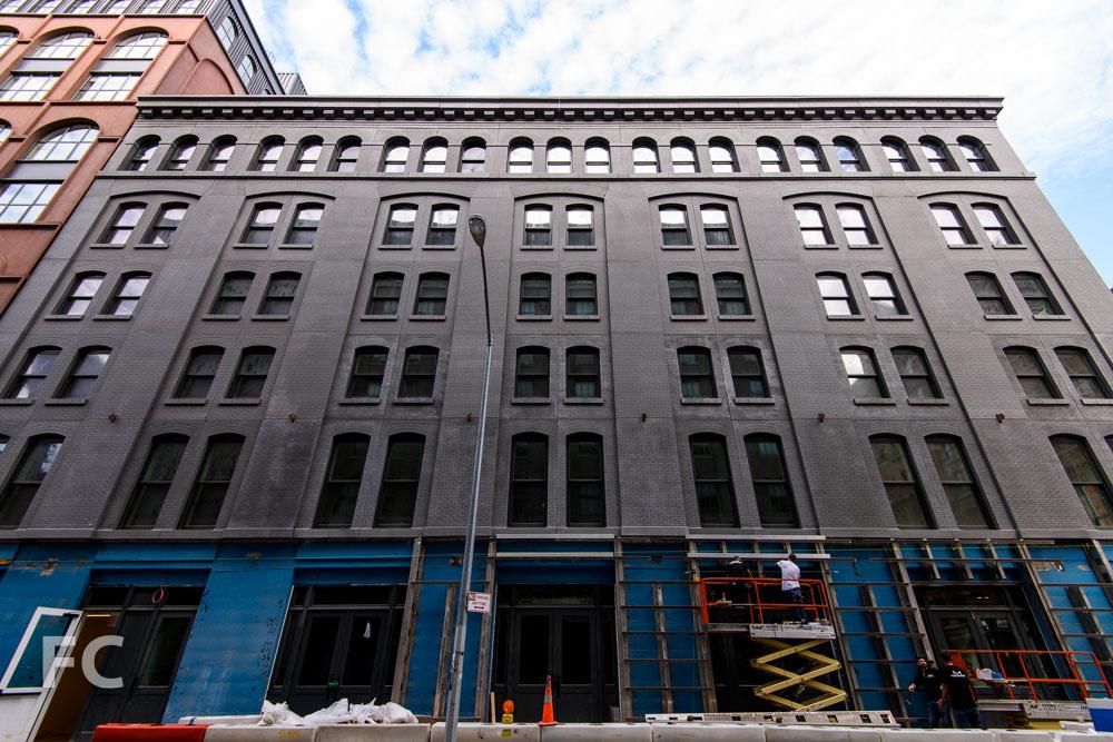 East façade from Greenwich Street.