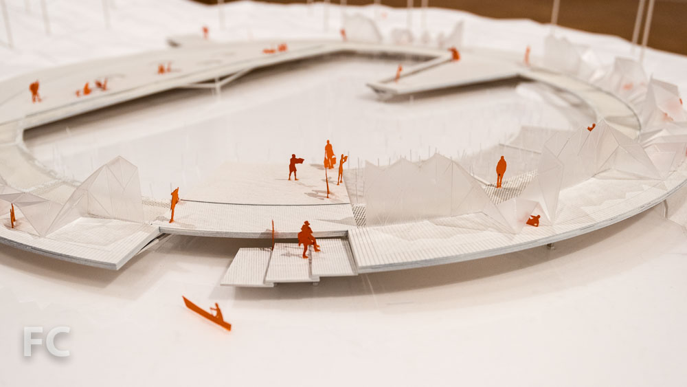 Model detail from Making Camp by Lateral Office.