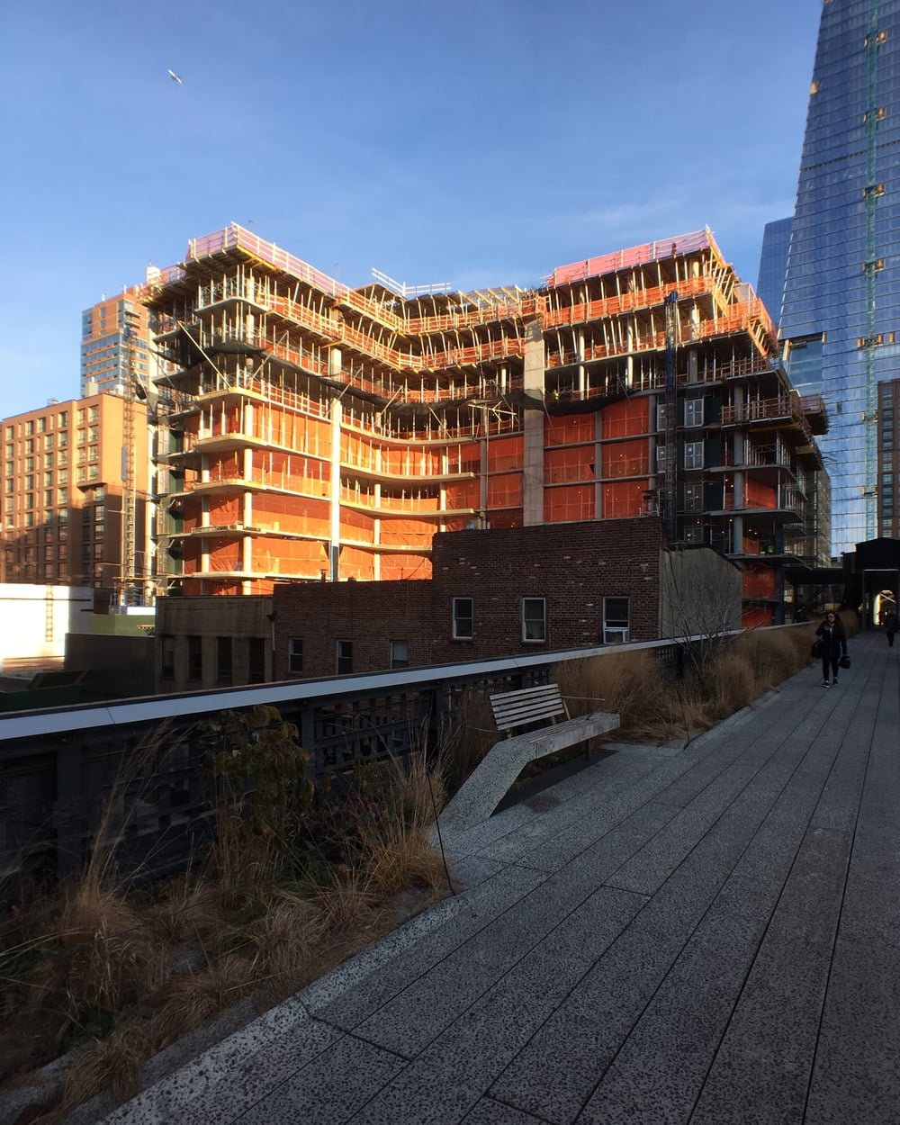 Southeast corner from the High Line.