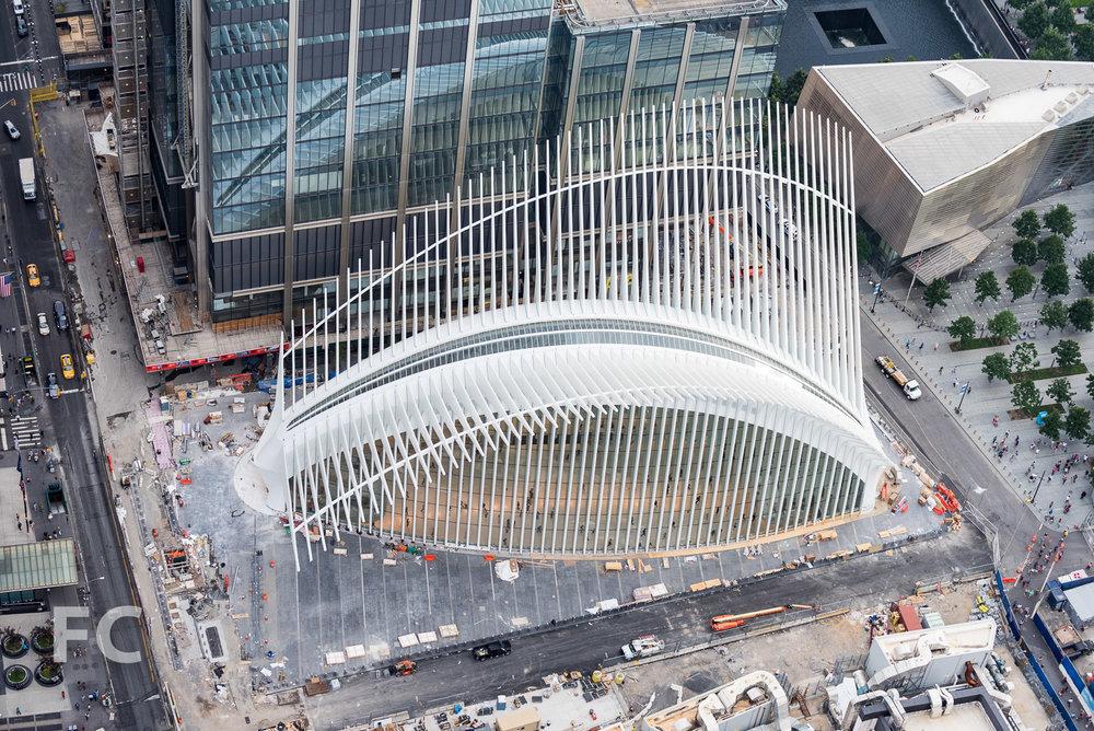 World Trade Center Transportation Hub.