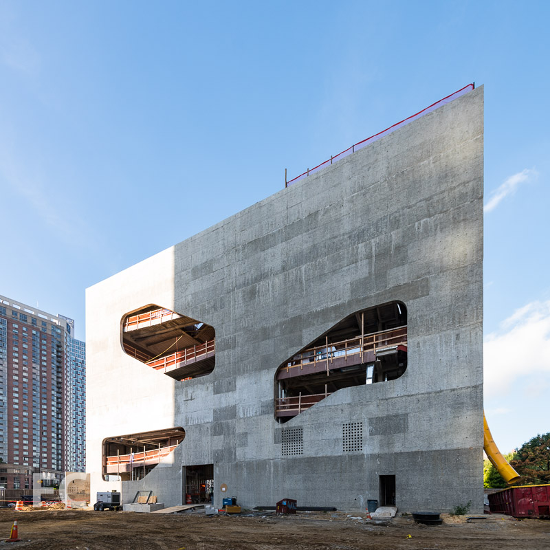 East facade.