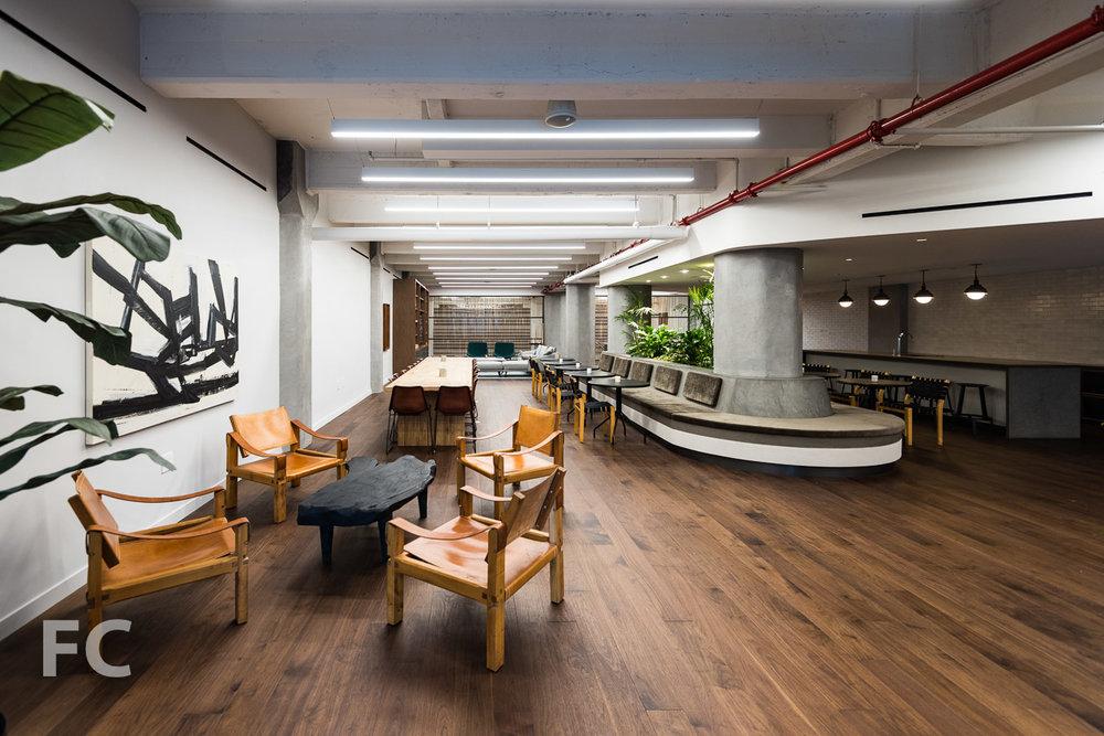 Amenity lounge.
