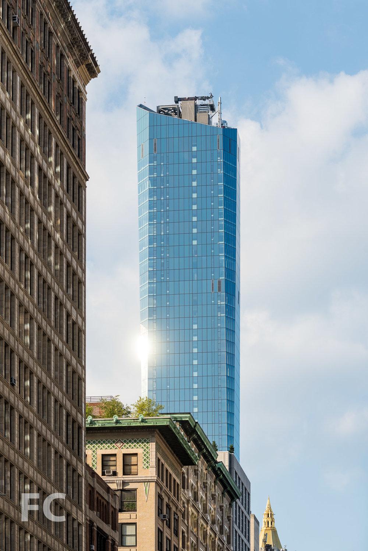 South façade from Park Avenue South.