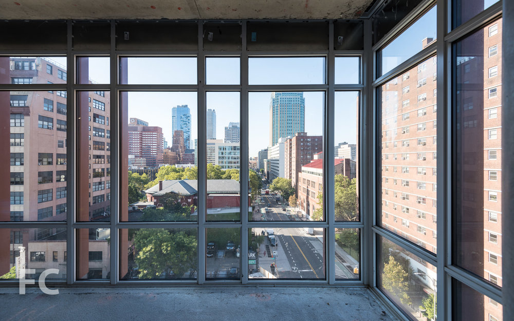 View of Downtown Brooklyn from an office floor.