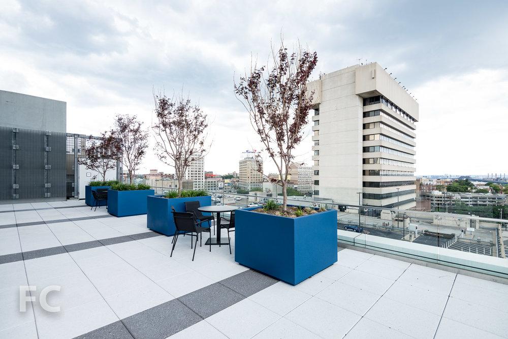Amenity terrace.