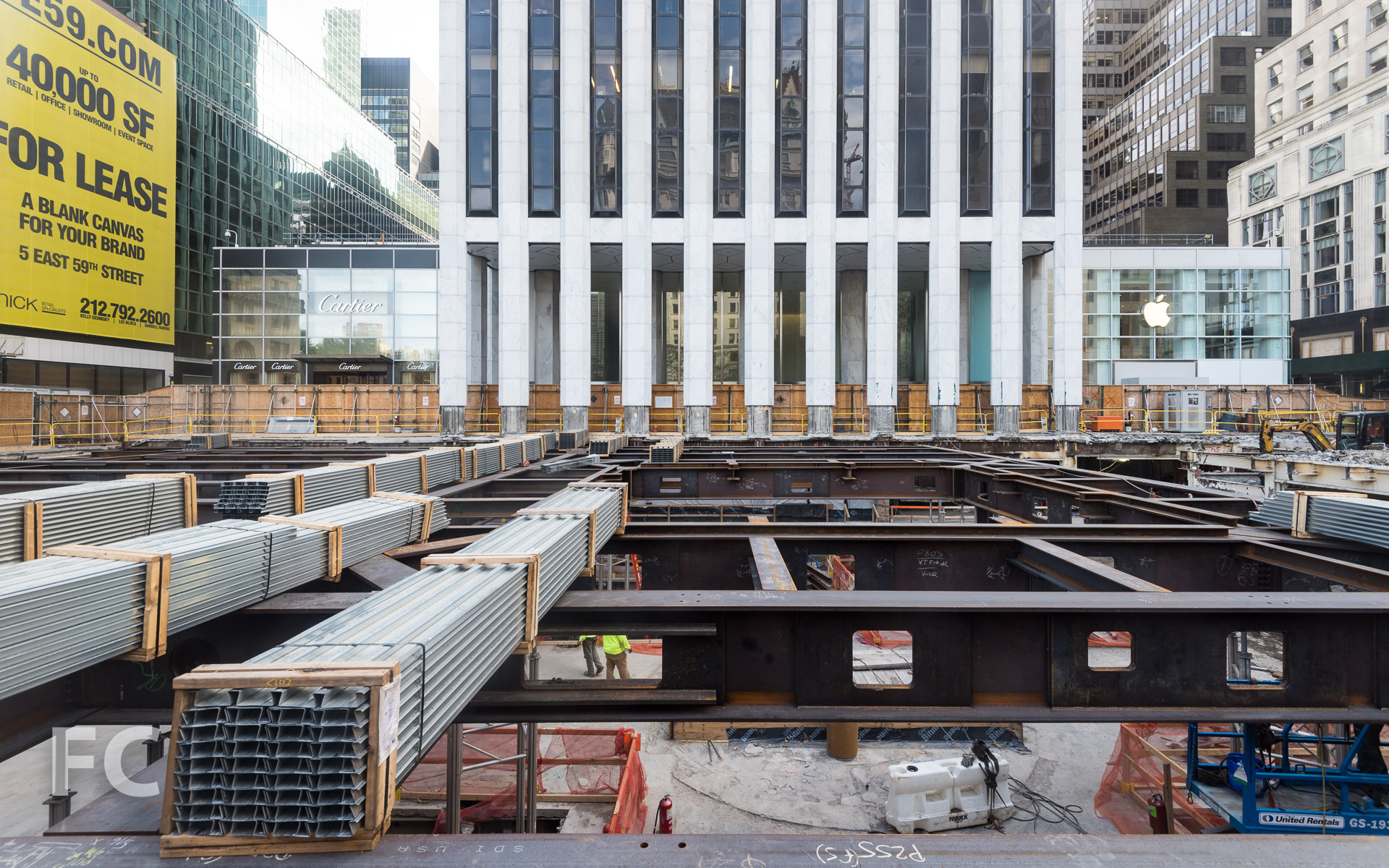 137398a4ce3 Construction Update  Apple Fifth Avenue — FIELD CONDITION