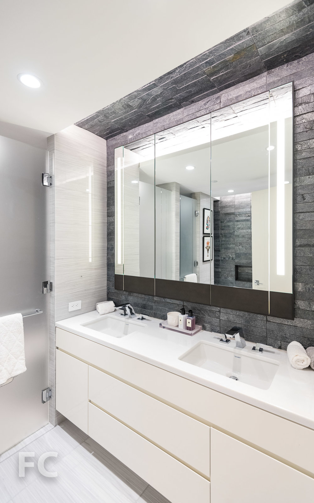 Master bathroom vanity.