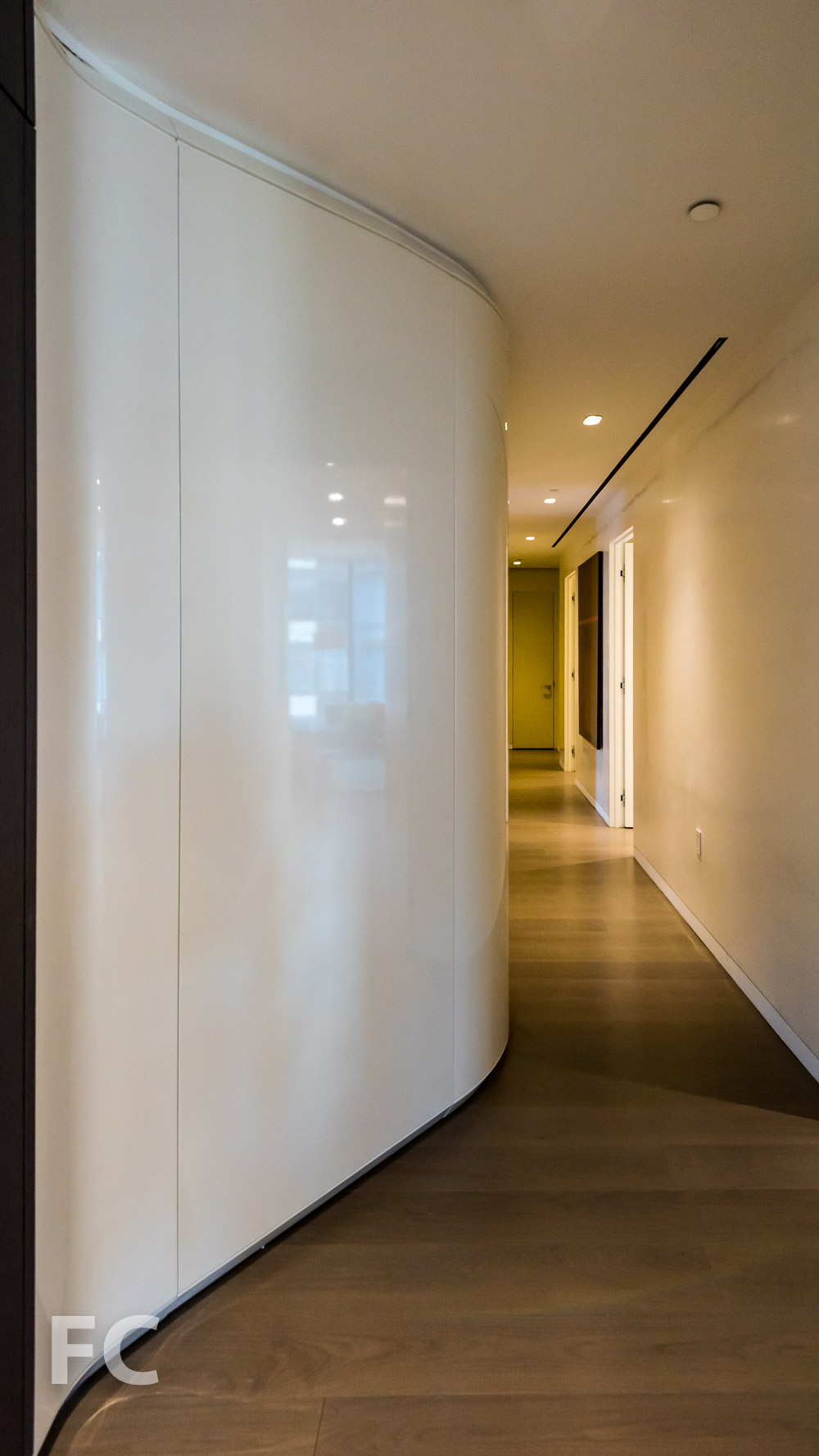 Hallway leading to the secondary bedrooms.