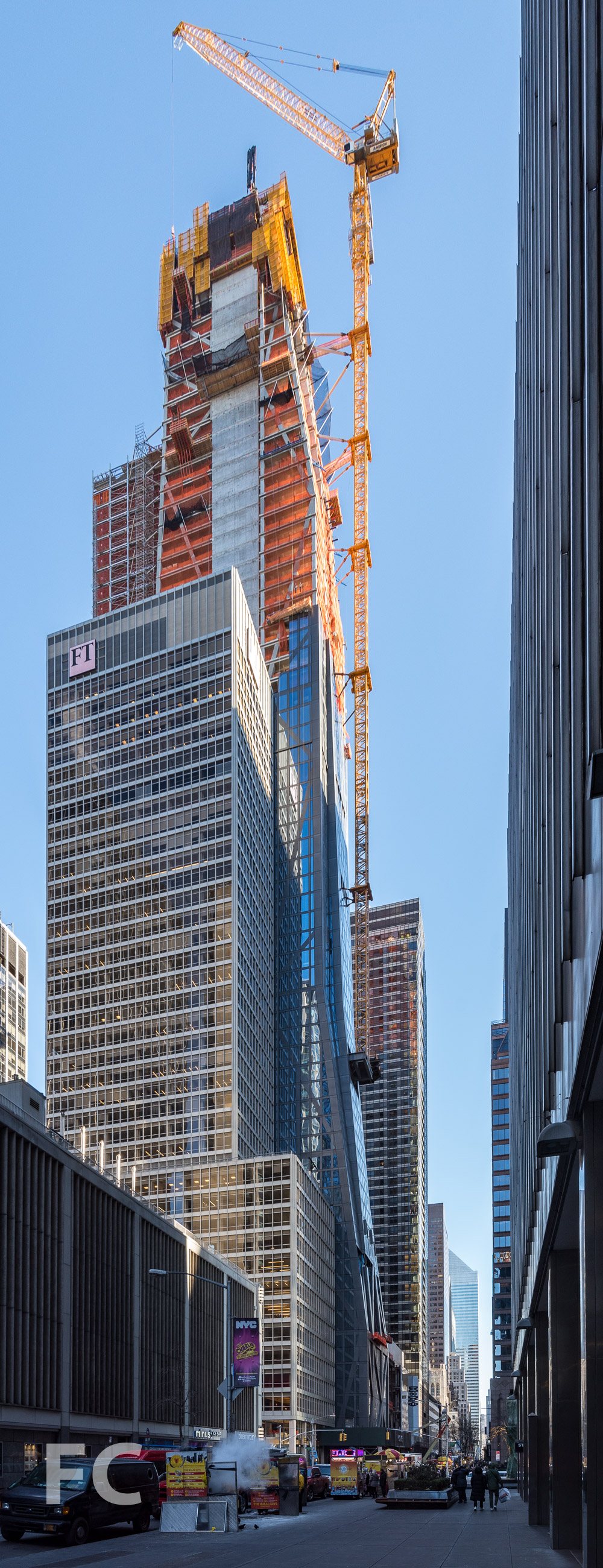 West facade from West 53rd Street.