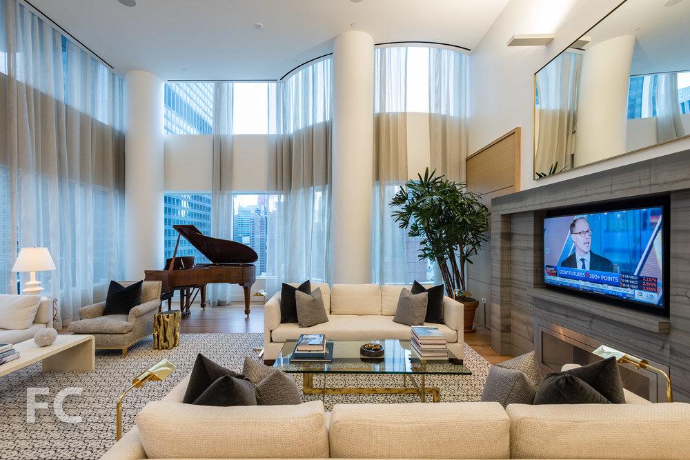 Private lounge.