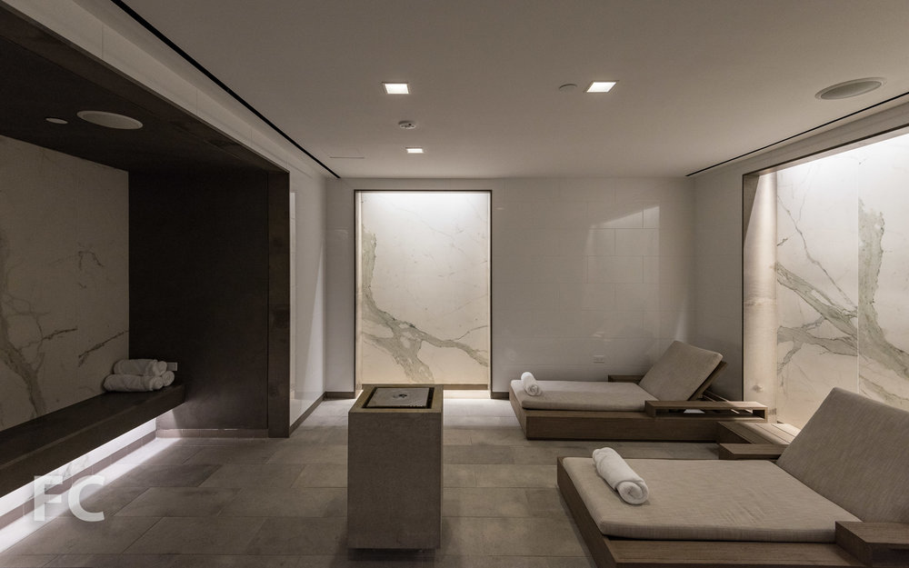Relaxation room.