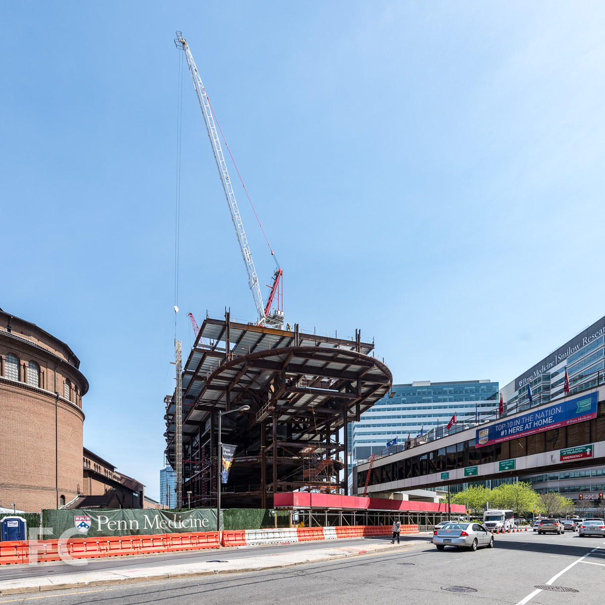 Construction Update: New Patient Pavilion for Penn Medicine — FIELD