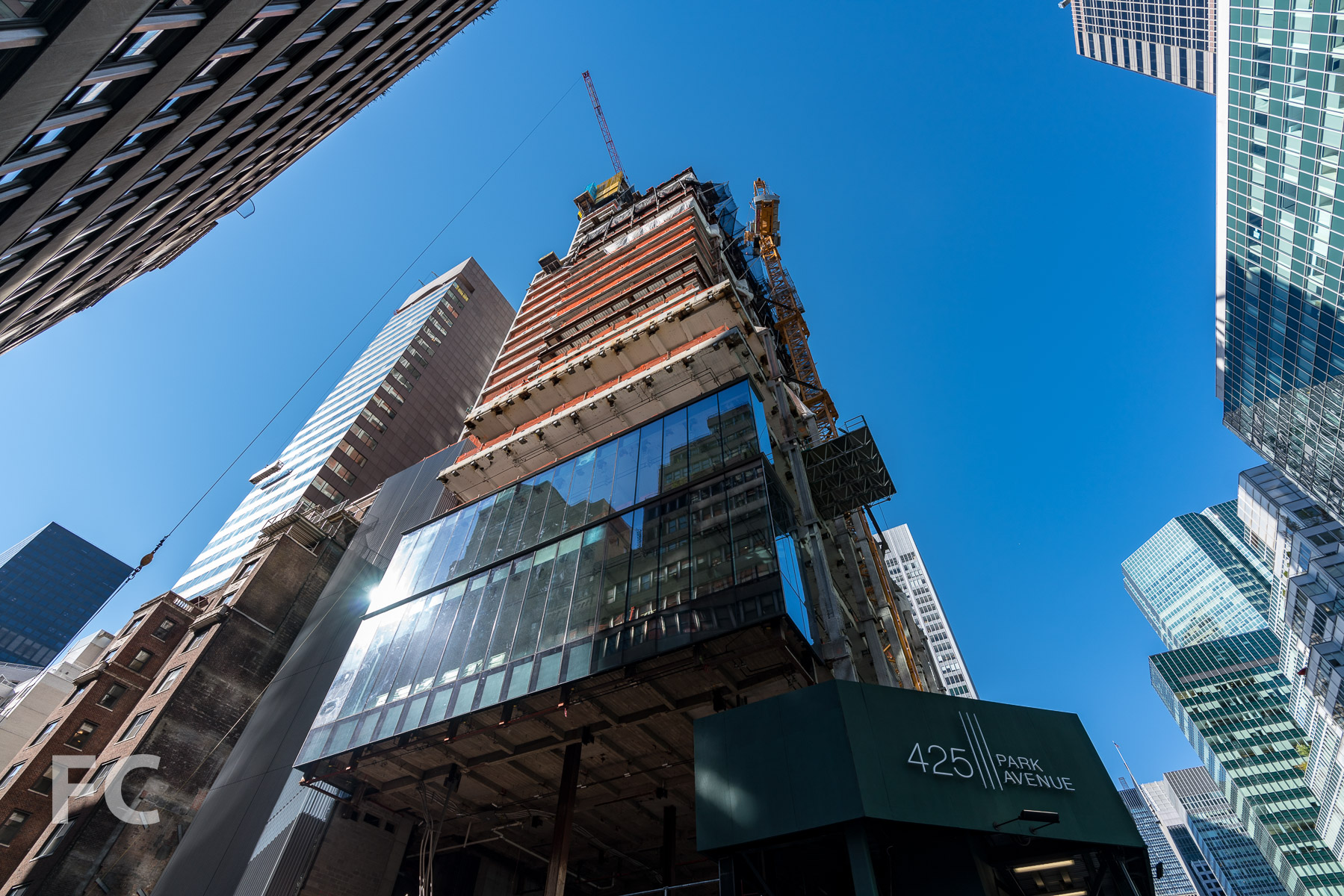Construction Tour: 425 Park Avenue