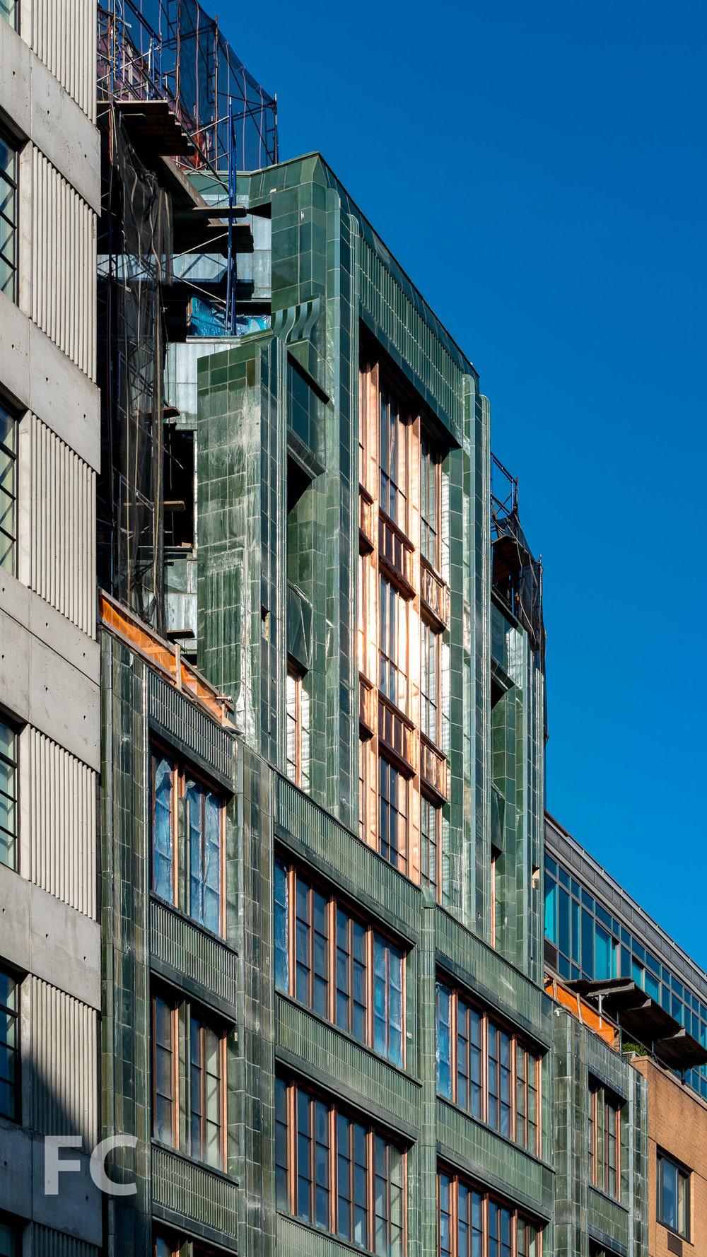 North facade.