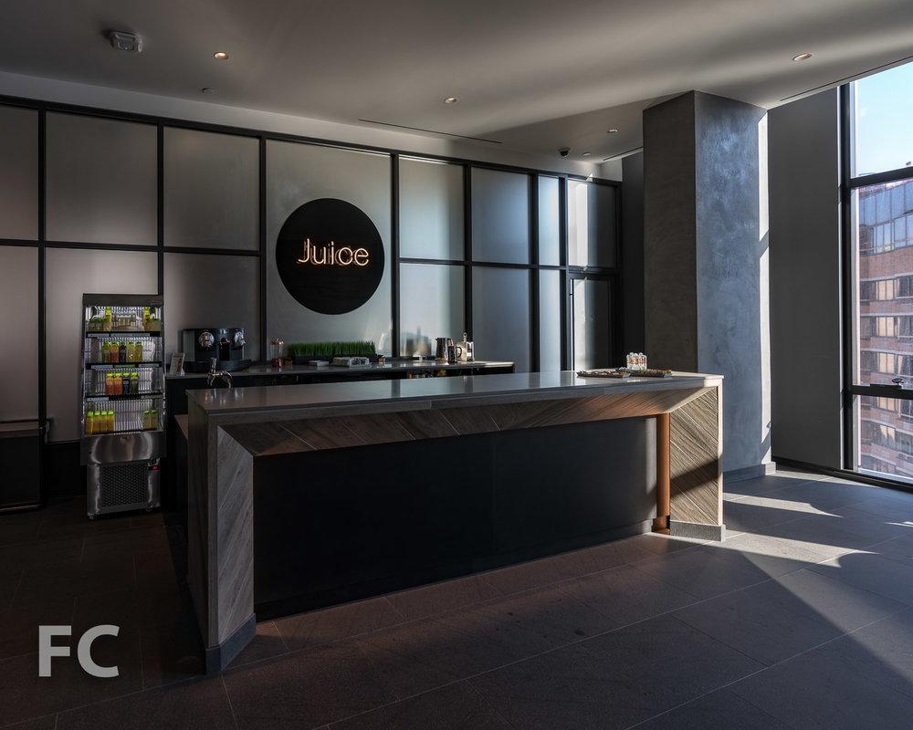 Juice bar.