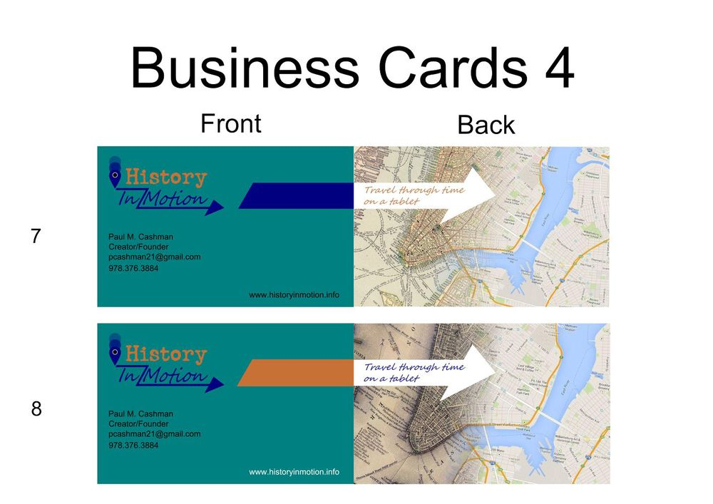 Business Card Development