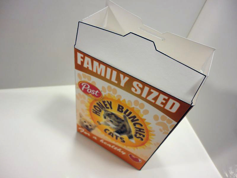 Cereal Box Packaging