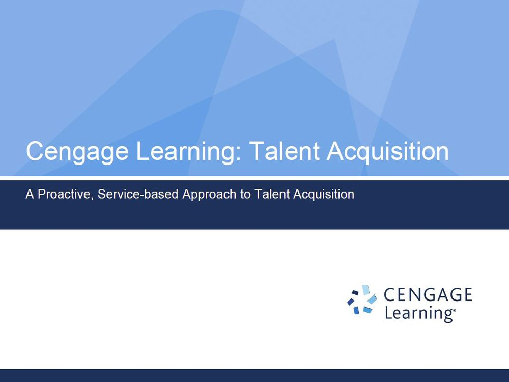 Talent Acquisition Narrative