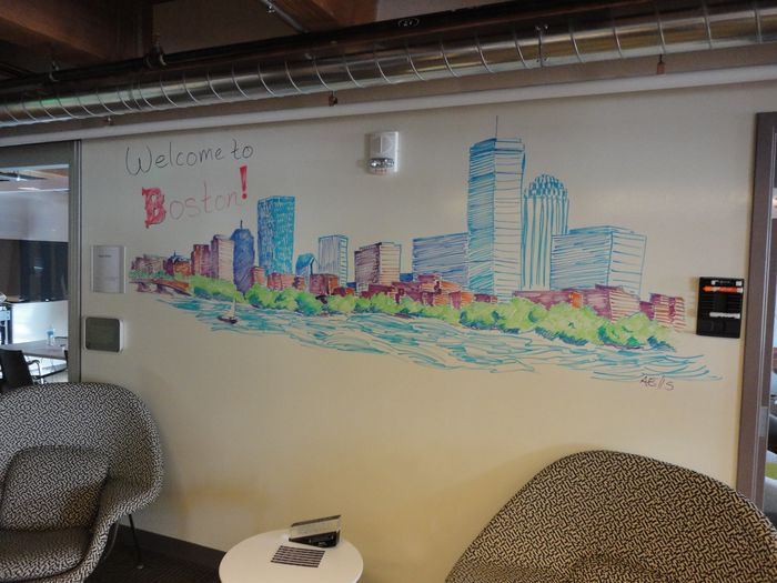 Global Product Technology Mural (Boston Office 10 Building 4F)