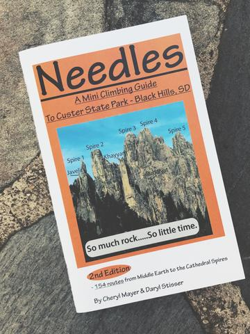 For your roommate... - ...who started climbing last summer: The Needles Mini Climbing Guide