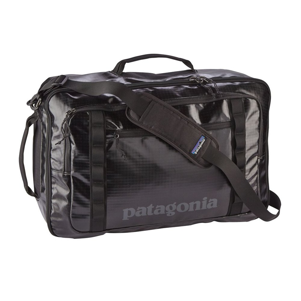 For your husband... - ...who travels for work, but also for adventure: A Patagonia Black Hole MLC 45L