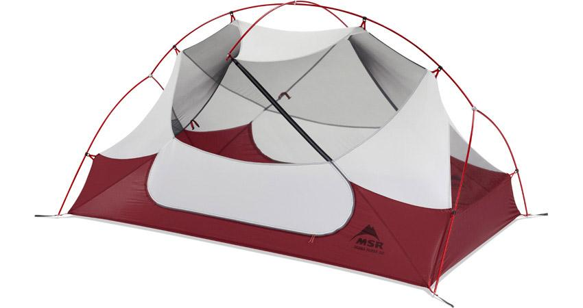For your girlfriend... - ...who you are planning to propose to on Christmas Eve: The MSR Hubba Hubba Backpacking Tent