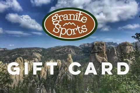 For the real tricky ones... - ...and the procratinators: A Granite Sports Gift Card